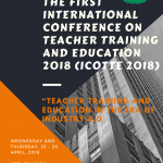 Copy of The First International Conference On Teacher Training and Education 2018